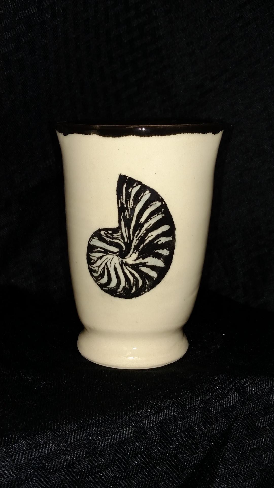 Vase - fibonacci seashell