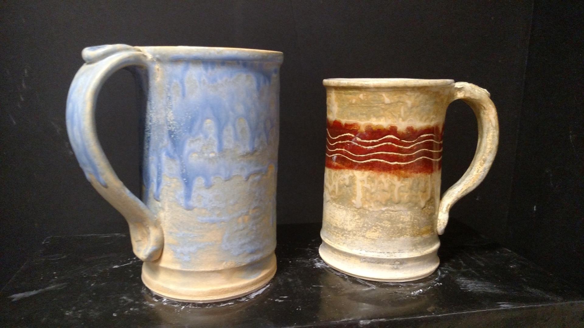 Stoneware mug/beer stein